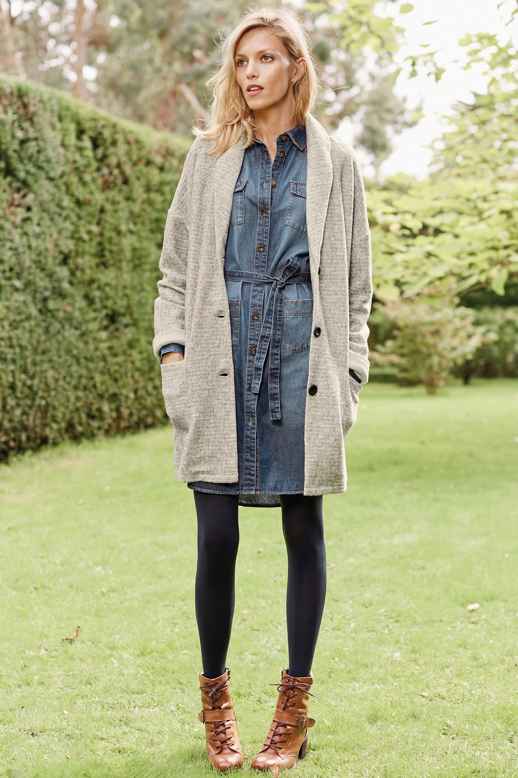 Buy Grey Duster Cardigan from the Next UK online shop | LAYERING ...