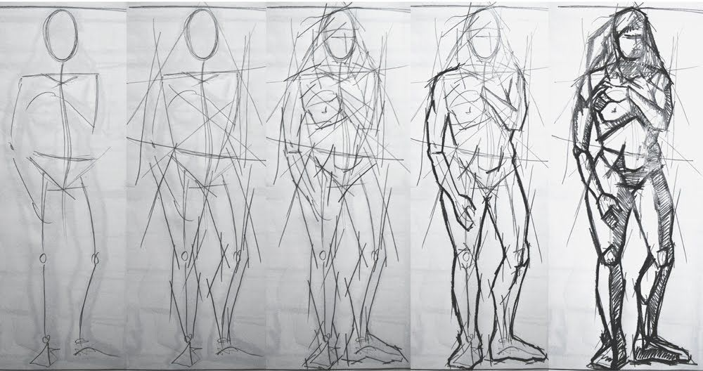 Figure drawing techniques link to free pdf http mos futurenet