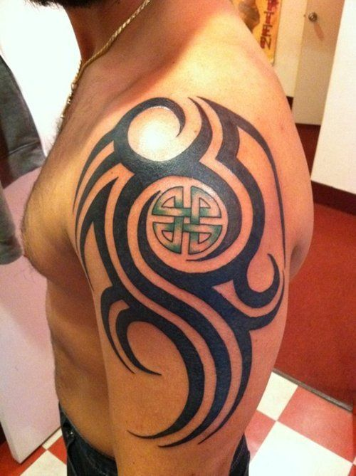 image result for celtic tribal tattoo tattoo ideas pinterest celtic tribal tattoos celtic. Black Bedroom Furniture Sets. Home Design Ideas