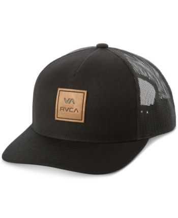 8c57d1b27d267 Rvca Men s All The Way Logo Graphic Hat - Black in 2019