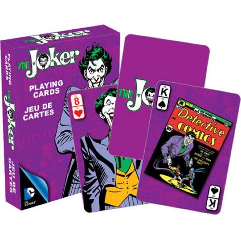 Homewares - DC Comics The Joker Retro Playing Cards