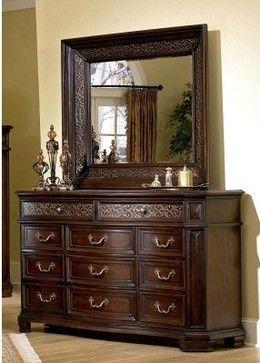 accessorize a dresser costa dorada dresser modern dressers chests and bedroom armoires. Black Bedroom Furniture Sets. Home Design Ideas