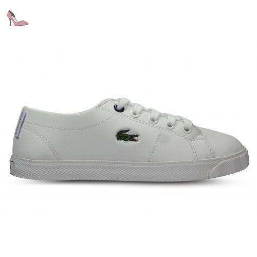bbec4d7680 Lacoste Enfants Blanc Marcel Lace Basket-UK 10 Enfants - Chaussures lacoste  (*Partner