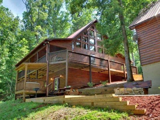 Blue Ridge Hideaway Private Luxury Cabin In The Aska Adventure Area