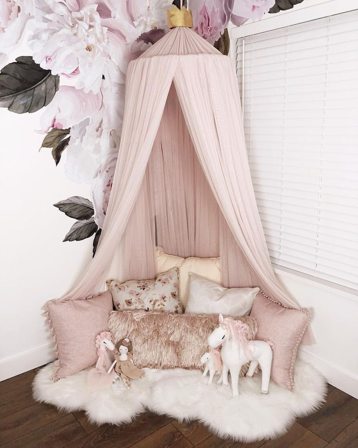 Emmalyn S New Pale Pink Canopy From Spinkiebaby Ig Gina Bourne Pinterest Gina Bourne Kid Toddler Girl Room Girl Room Inspiration Baby Girl Room
