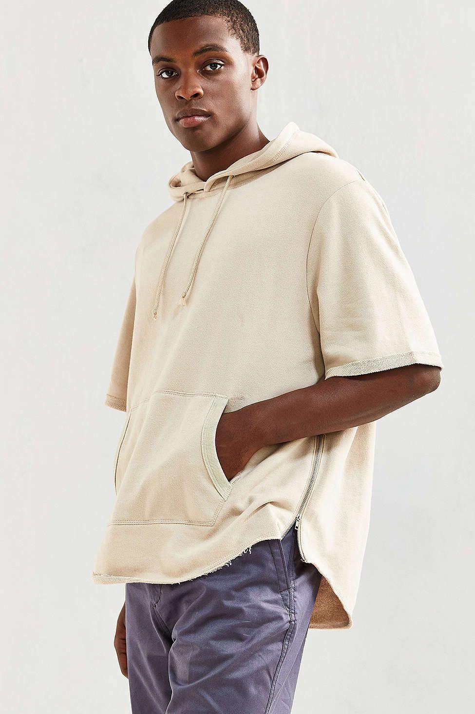 6f6e09dad Scoop Short Sleeve Hoodie Sweatshirt in 2019 | MEN Style | Short ...