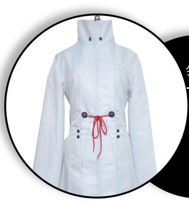 New Tokyo Ghoul Tatara Senior Cadres White Uniform Cosplay Costume Coat