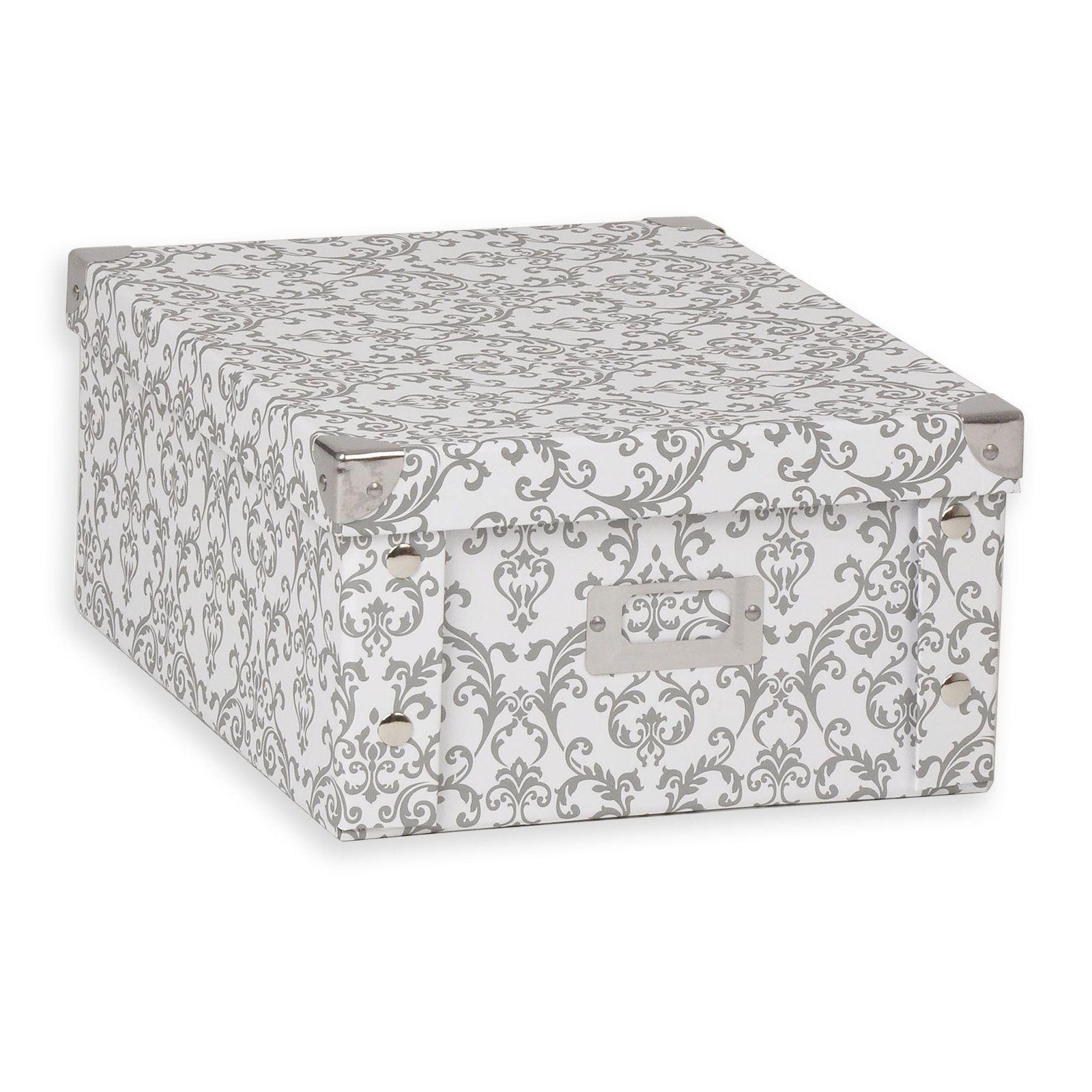 Aufbewahrungsbox - Barock - Pappe - Größe S Jetzt bestellen unter ...