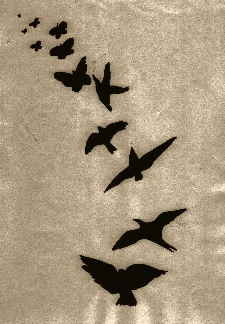 нанесение изображения картинки тумблер птицы лучших