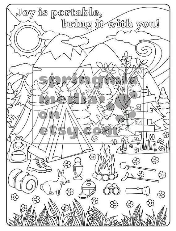 Coloring Page to Relax, Soothing, calm and delightful pages to color ...