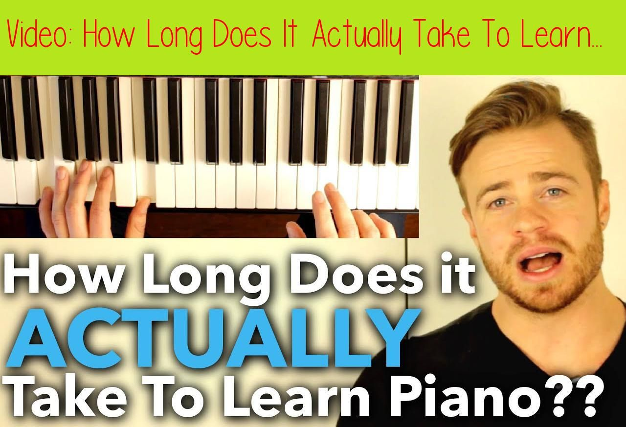 How long does it take to learn piano scales