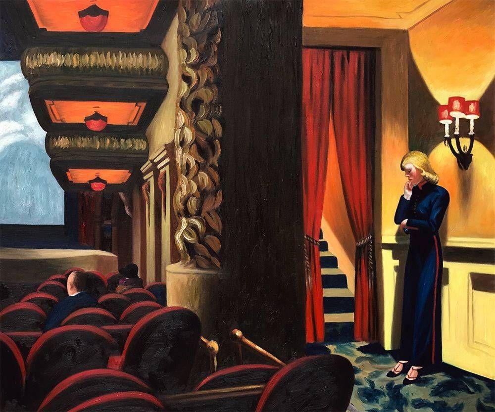 Hopper New York Movie, 1939 in 2020 New york movie