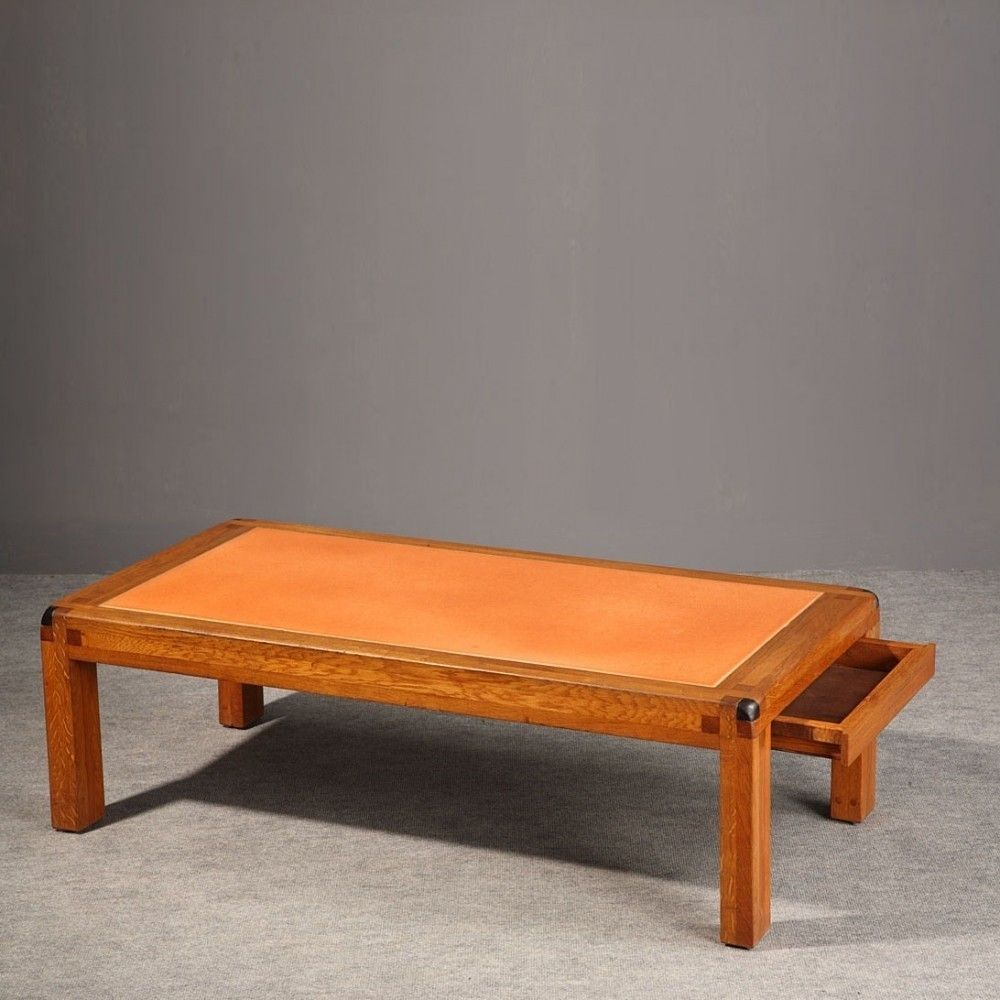 Located Using Retrostart Com Coffee Table By Pierre Chapo For Chapo Table Basse Mobilier De Salon Table