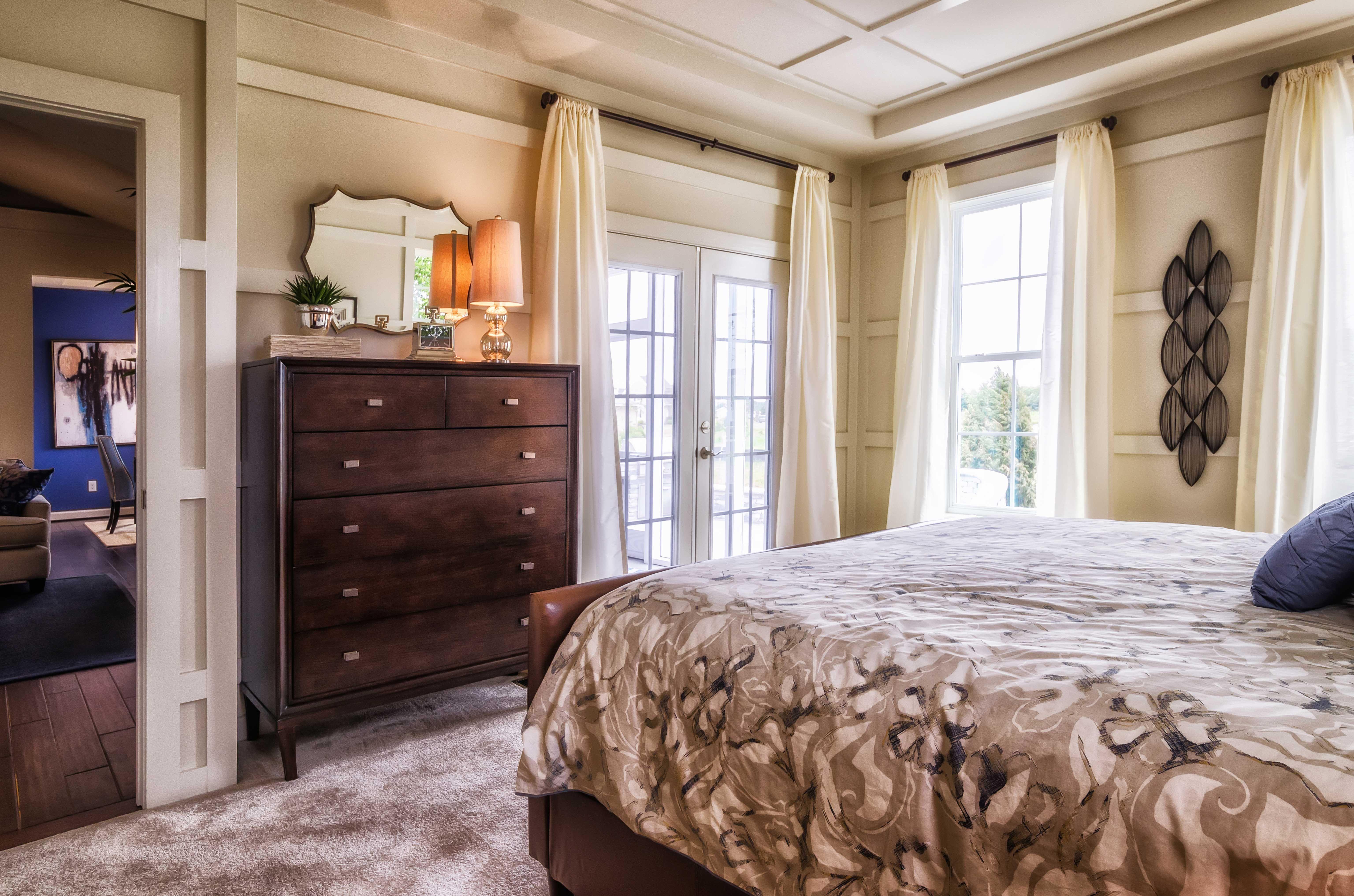 "The interior bedroom design of the ""Chesapeake Ranch ... on Model Bedroom Interior Design  id=69457"