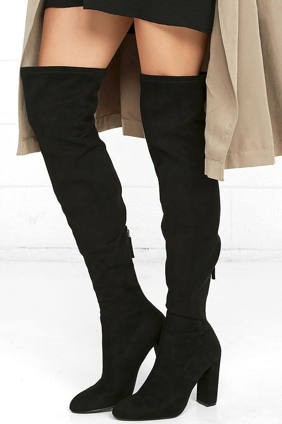 56c7b951a99 Lets talk...Thigh High boots!! | FASHION ** | Boots, Steve madden ...