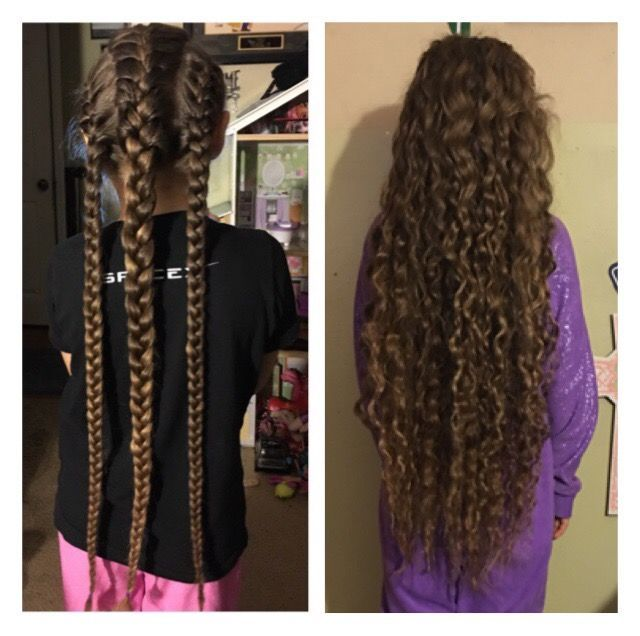 Untitled | Wavy hair overnight, Overnight hairstyles ...