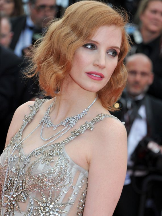 Jessica Chastain wears Piaget high jewellery