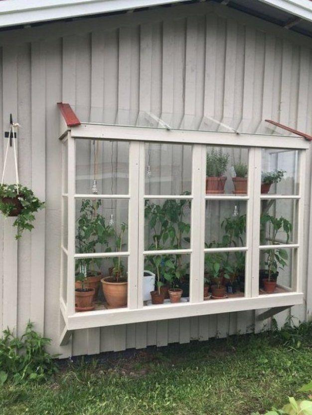 So schön ist der Erstfrühling Garten, Gewächshaus selber