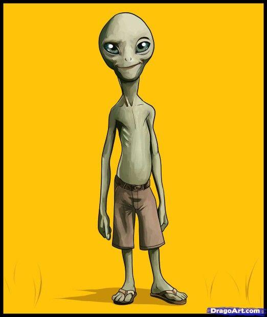 Paul Alien Paul The Alien Alien Drawings Drawings