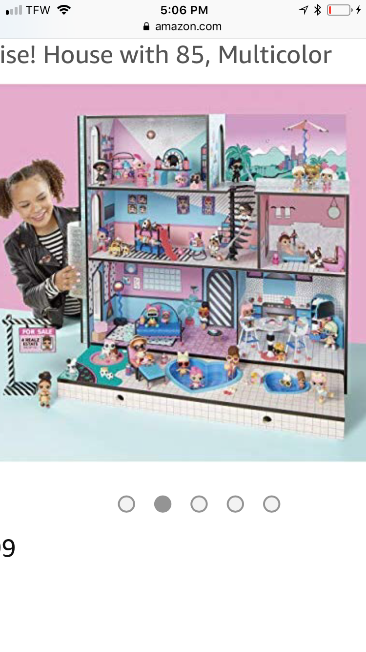 New Lol Surprise Doll House Releases August 31st Lol Dolls Girls Dollhouse American Girl Doll House