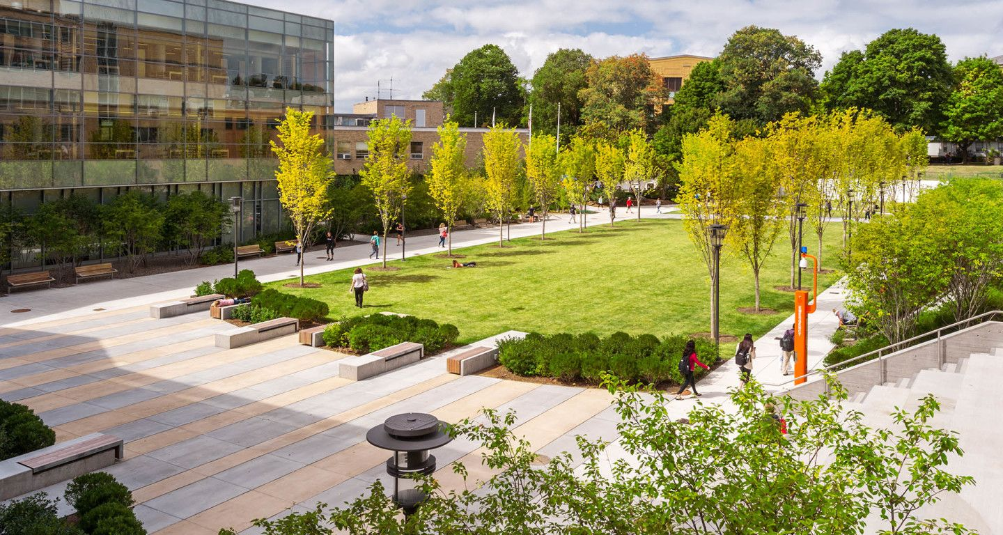 Mikyoung kim design salem state university learning for Park landscape design