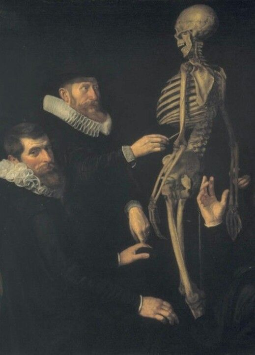 Detail of The Anatomy Lesson of Dr. Sebastian Egbertsz, by Thomas de ...