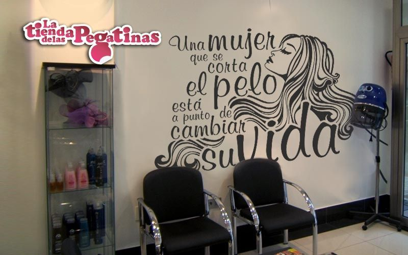 Vinilos para peluquerias 1 blog vinilos decorativos - Vinilos decorativos para salon ...