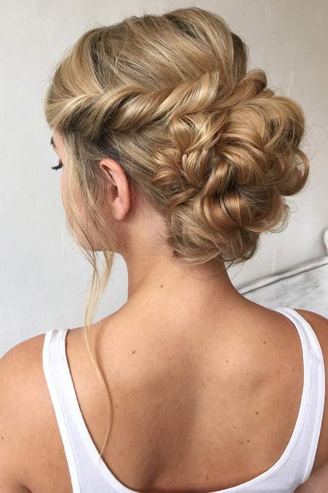 60 Sophisticated Prom Hair Updos Short Wedding Hair Thick Hair Styles Updos For Medium Length Hair