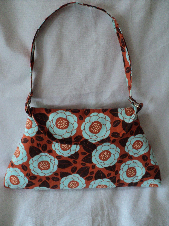 mjcreation bag purse in very cute  fabric, $14