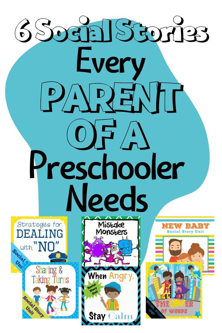 Preschool is somewhat about learning academics but mostly about learning the social norms of life. Each story unit in this bundle has simple strategies that even the youngest learning can latch on to. Sharing and taking turns, adjusting to a new baby, responding to mistakes, staying calm when angry, learning the power of using words to communicate, and dealing with being told