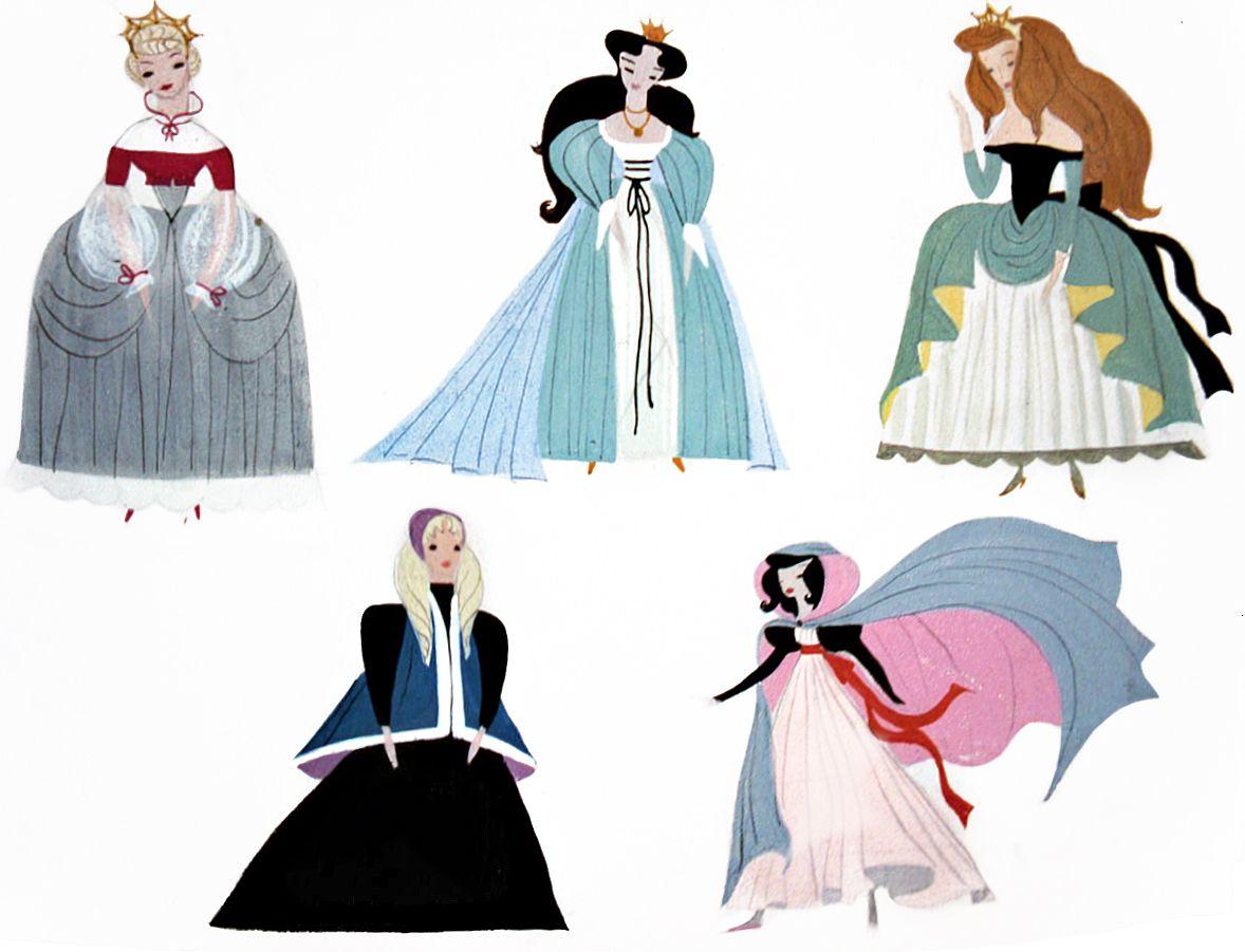 Disney Princess Character Design : Cinderella character design by mary blair