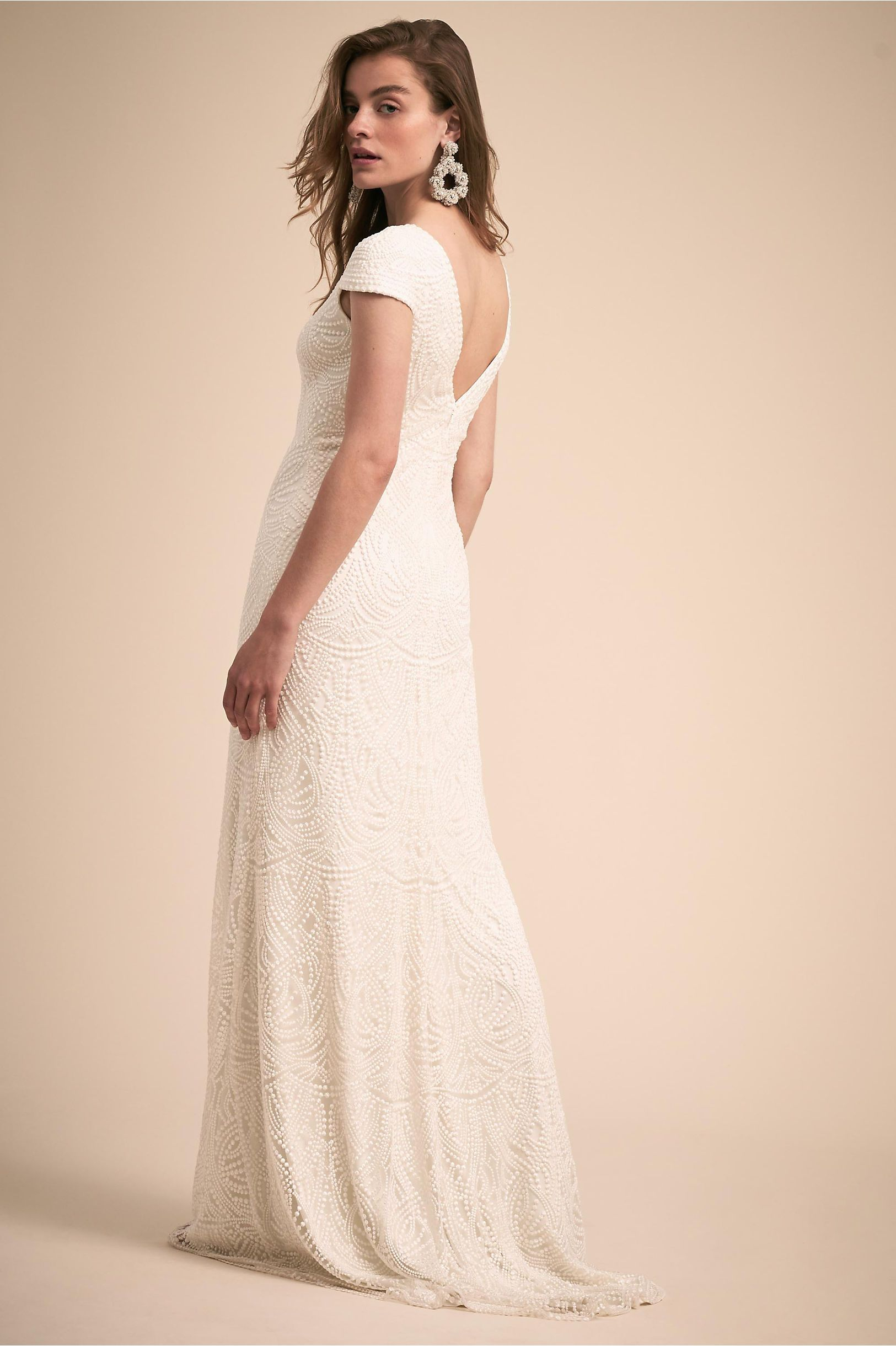 Leeds Gown | Wedding dress cap sleeves