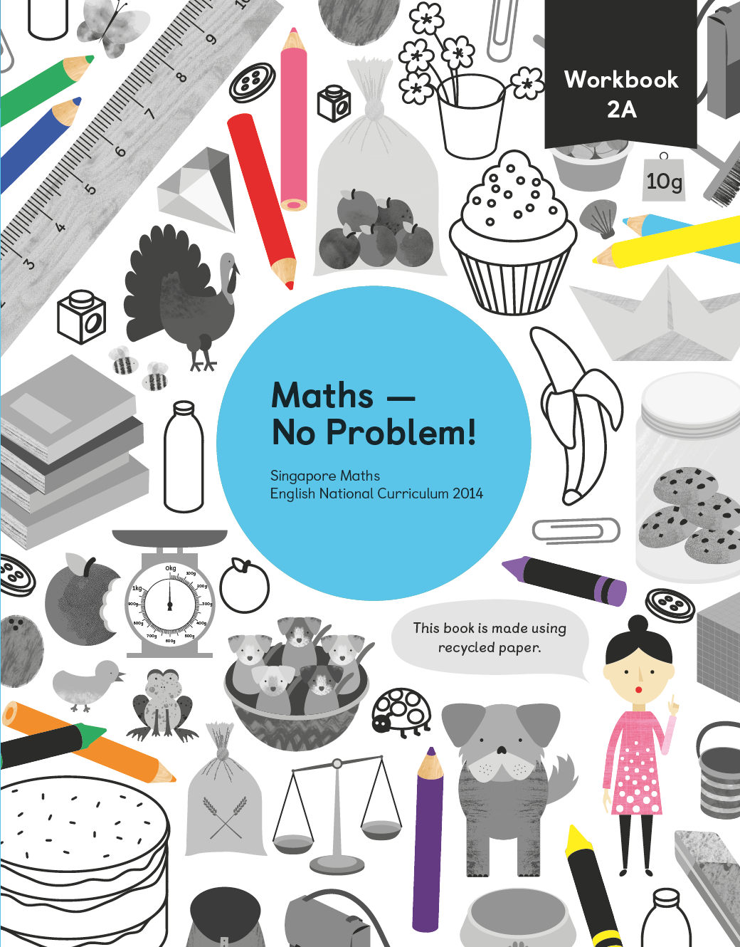 Workbooks key stage 2 workbooks : Maths — No Problem! 2A Workbook 9781910504031 | Year 2 maths ...
