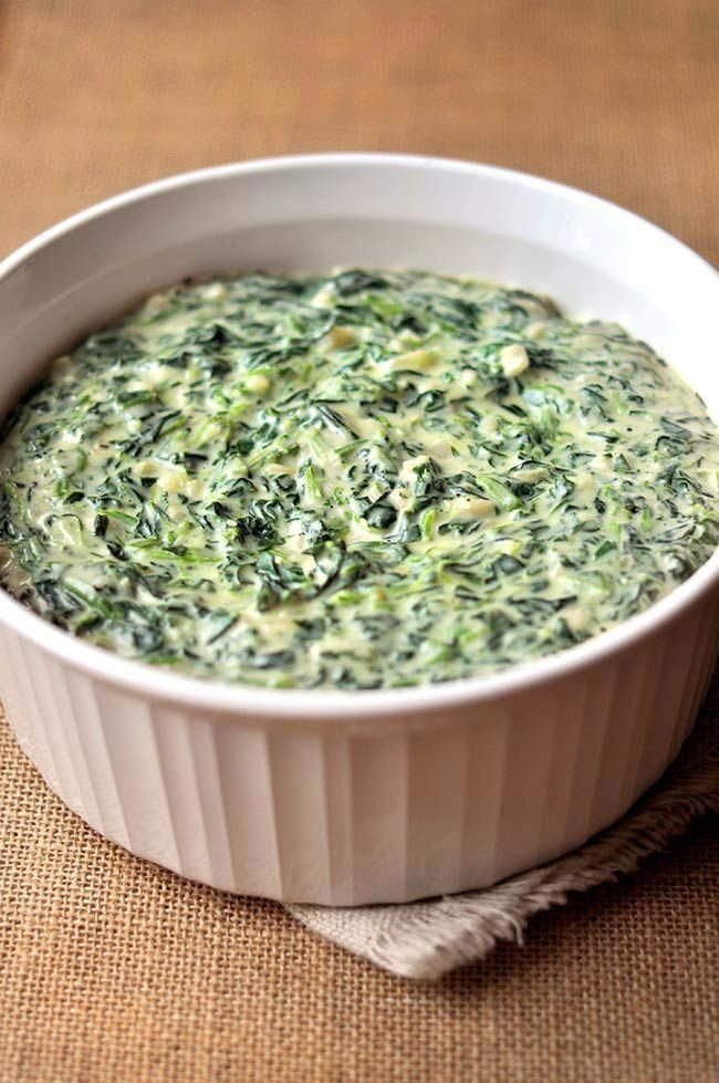 Easy Homemade Creamed Spinach Recipe Thanksgiving