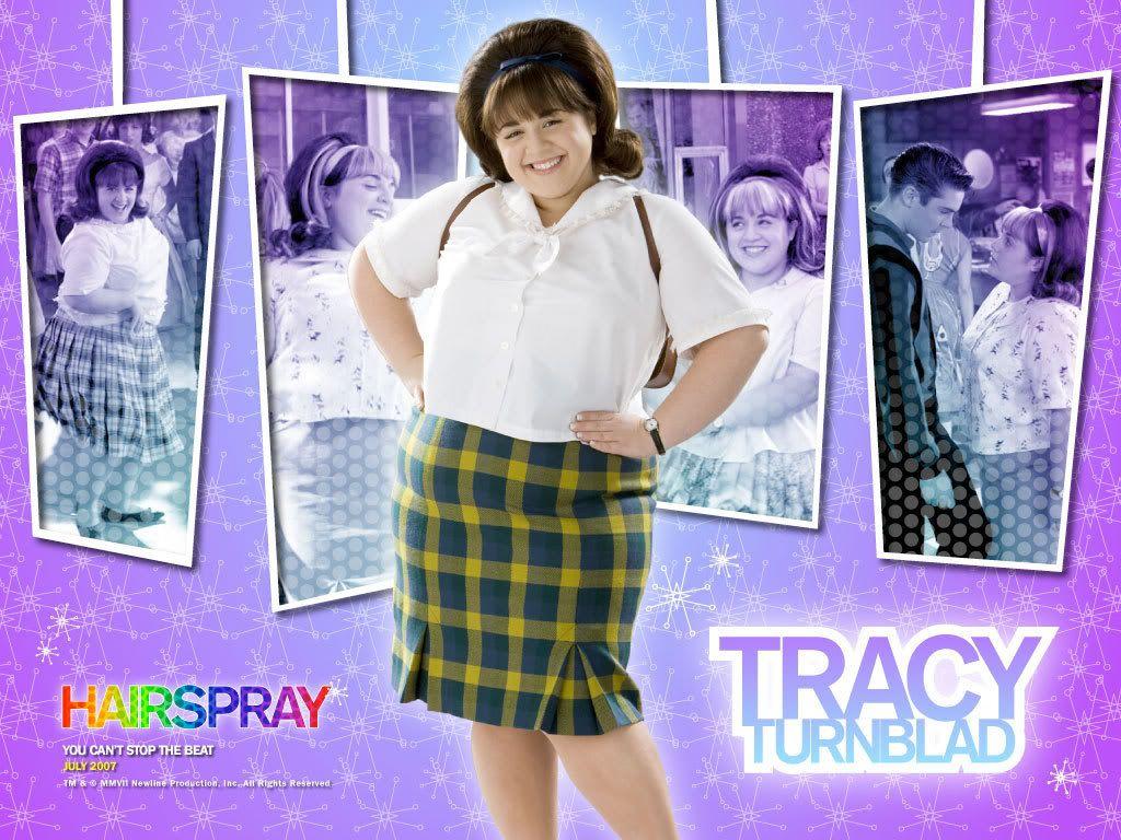 hairspray and tracy Hairspray personajes: tracy (protagonista) link (enamorado de tracy) edna (mamá de tracy) wilbur (papá de tracy) velma (productora del show) amber (hija de.