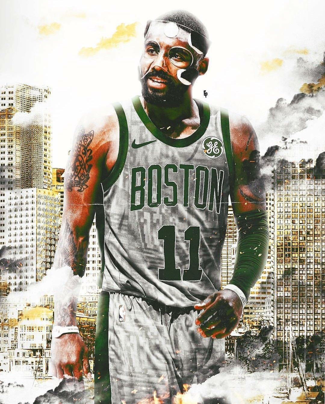 Kyrie Irving Boston Celtics Edit Nba Mvp Kyrie Irving Kyrie Irving Celtics