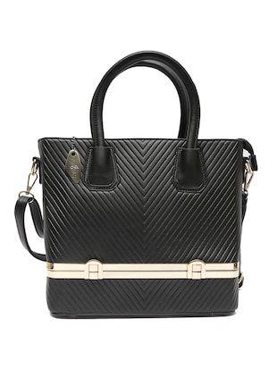 black leatherette handbag - Online Shopping for handbags
