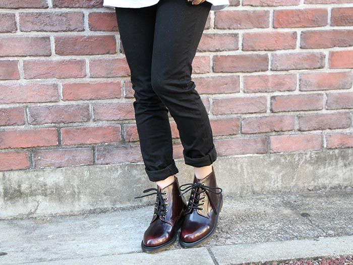 d9cf3184301 Dr. Martens red Emmeline booties | shoes in 2019 | Dr martens outfit ...
