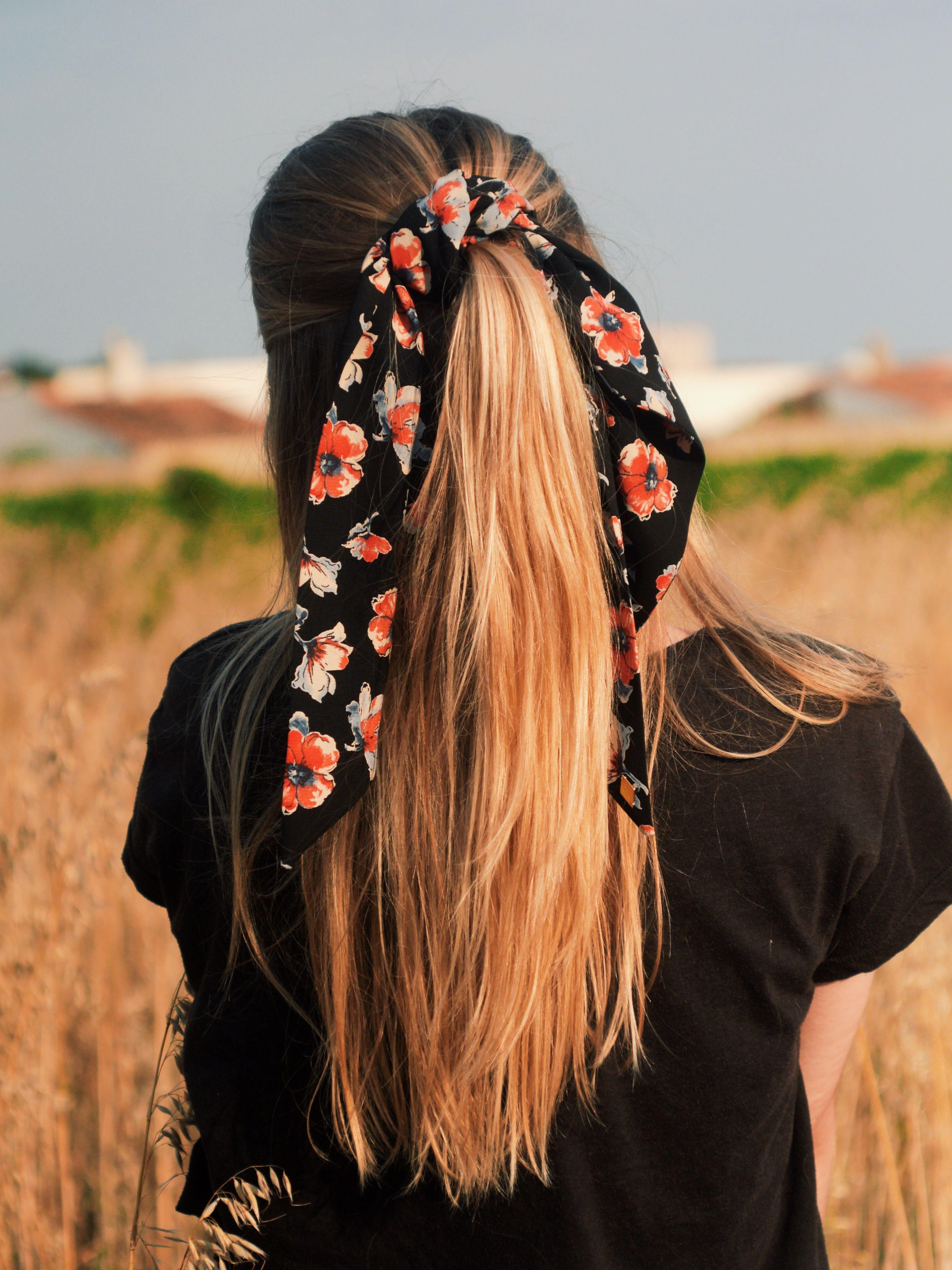 60% de réduction Nouvelle modèle unique A mi-chemin entre un chouchou et@un foulard 🎀 Facile à ...