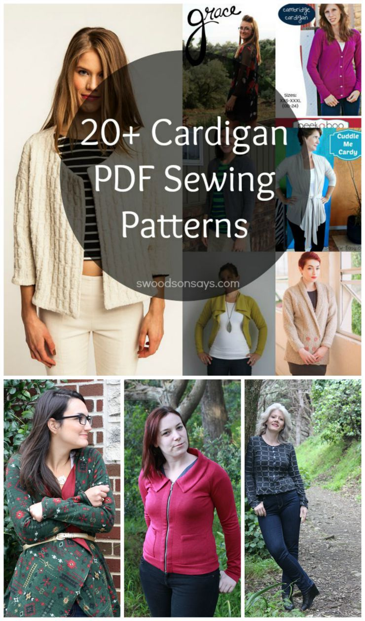 Womens cardigan pdf sewing patterns sewing crafts swoodson 20 pdf sewing patterns for cardigans sew for yourself this fall there are some coupon codes too if you read and shop before sunday 830 fandeluxe Images