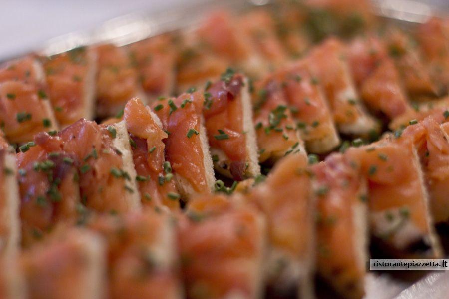 Tartine al salmone!