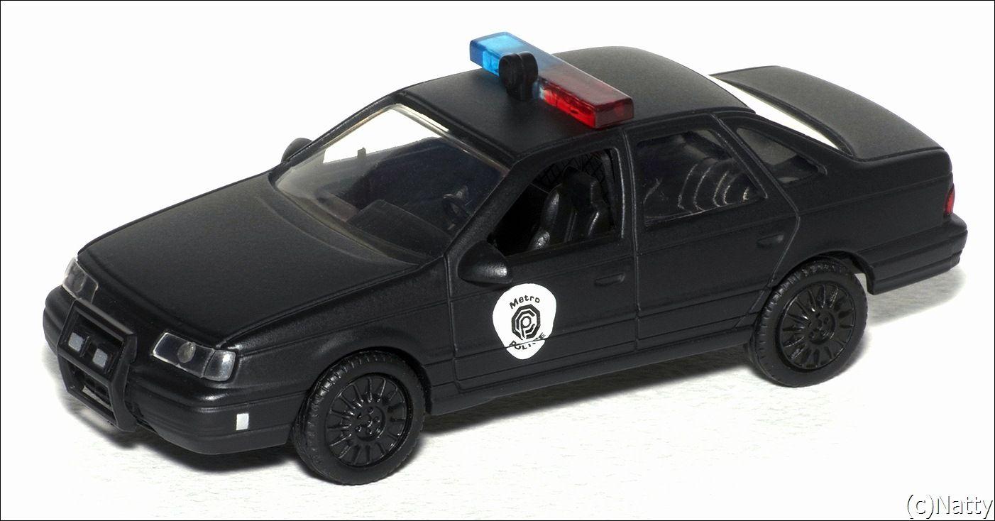 2764 1986 Robocop Ford Taurus Police Interceptor 1 43 Scale On Ebay Picclick Toyota 4x4 Interceptor Pick Up 4x4