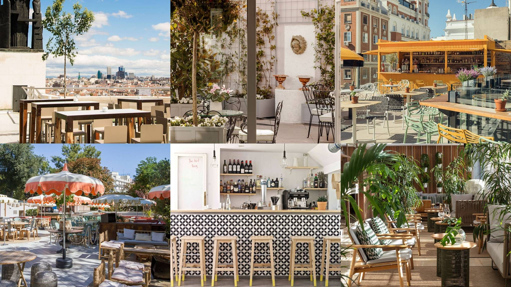 10 best rooftop bars in Madrid | Best rooftop bars, Madrid ...