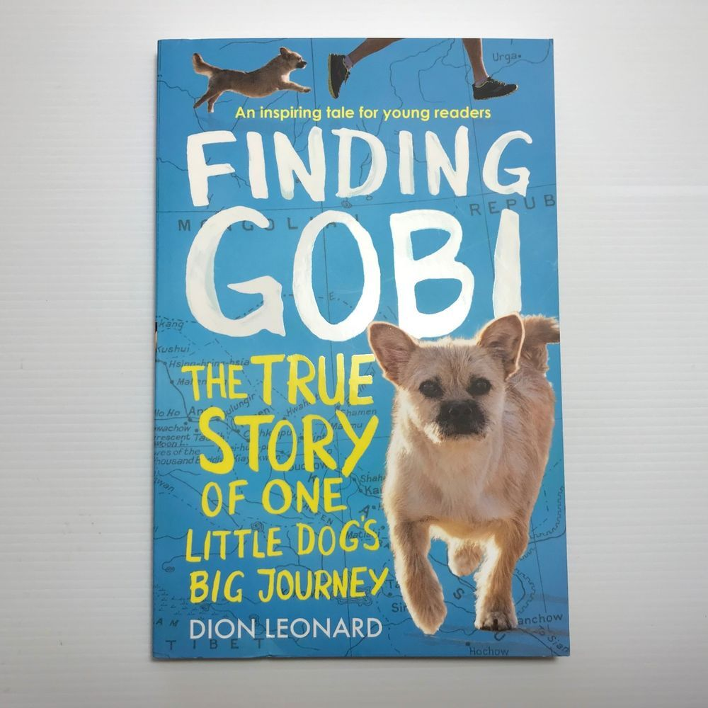 finding gobi young readers edition the true story of one little dogs big journey