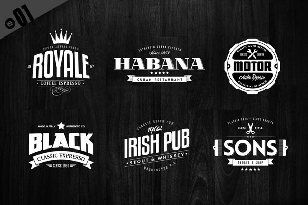 24 badges logos collection on behance logo badge sticker design