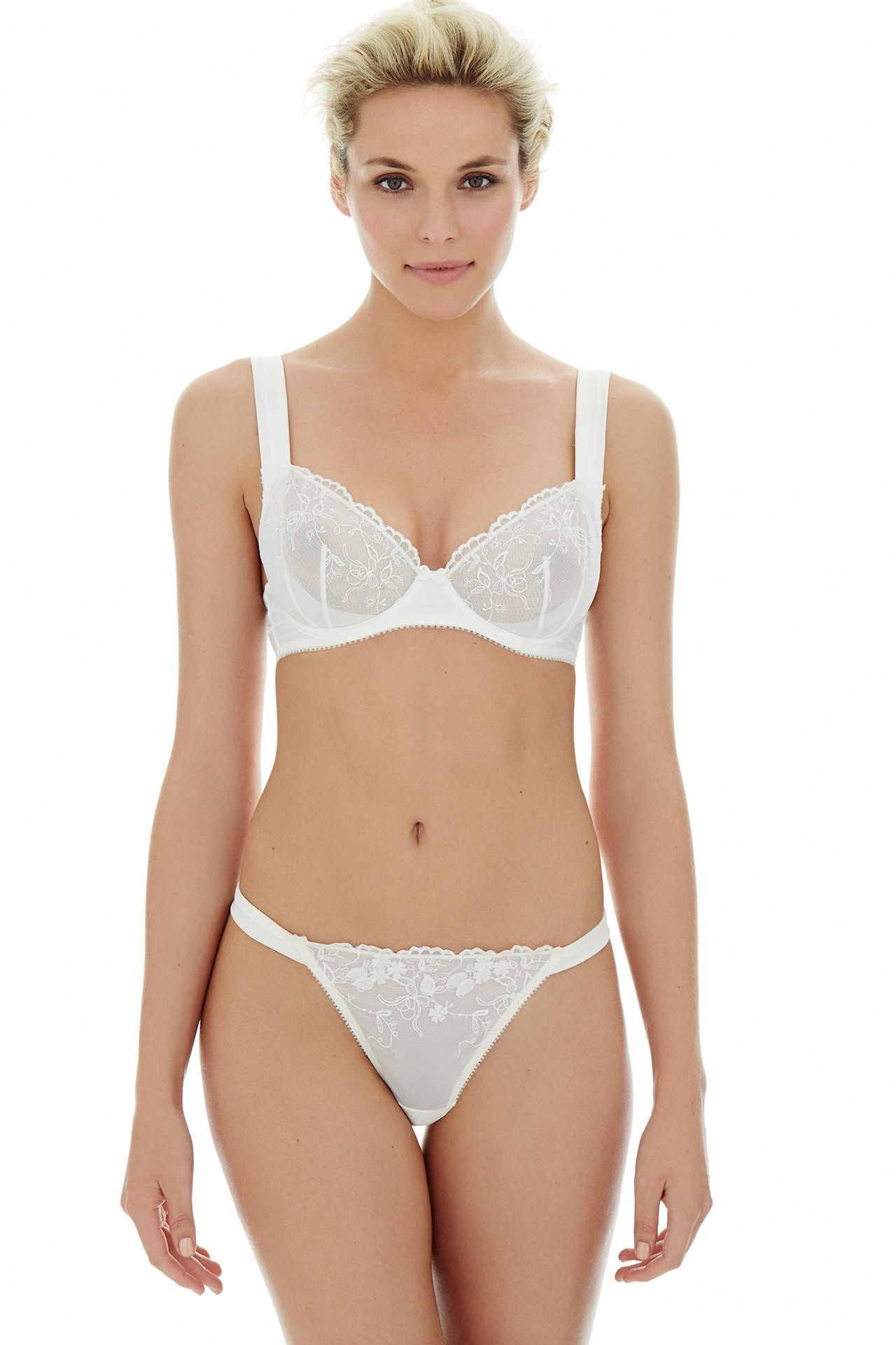 fbdad31ecae Wide straps are brilliantly supportive for your wedding day (if you re  wearing a dress with sleeves)