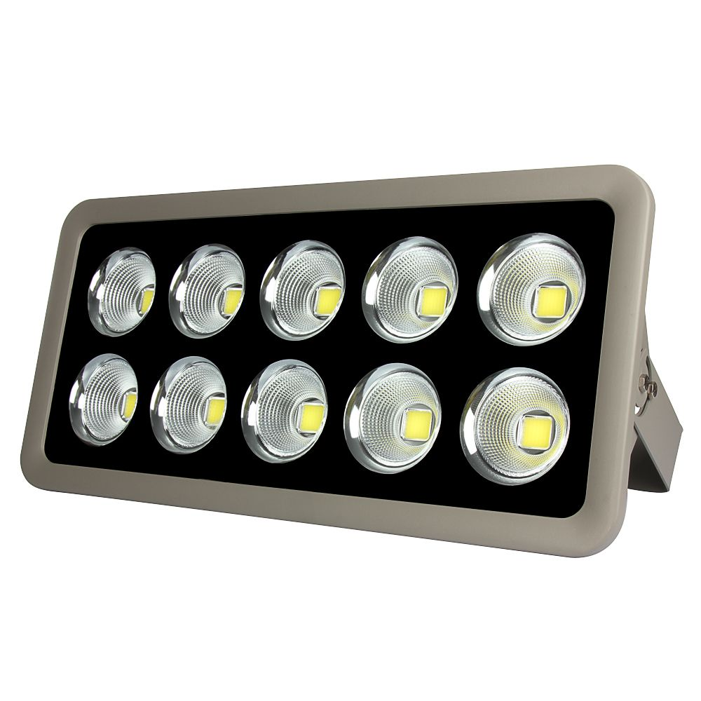 1pcs Led Flood Light Cob 500w 110v 220v Waterproof Ip65 Floodlight Spotlight Garden Outdoor Lighting Outdoor Flood Lights Outdoor Wall Lamps Led Flood Lights