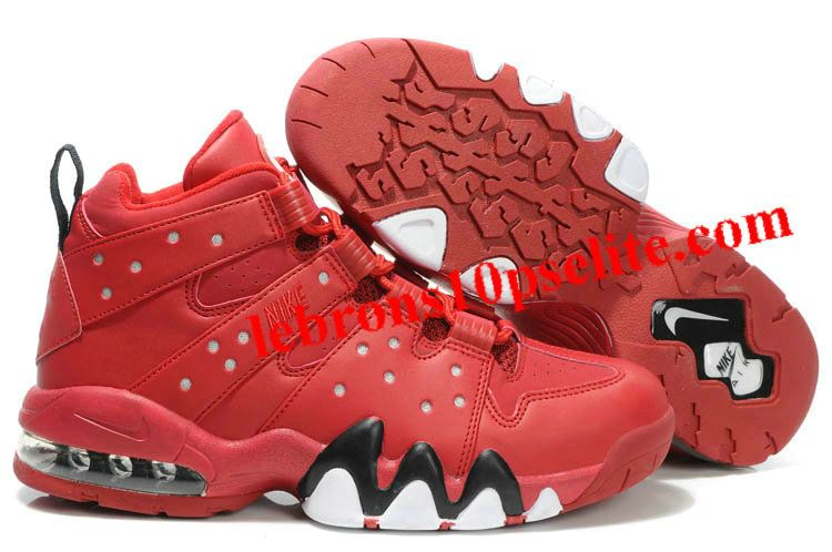 best service e683e 007b1 Charles Barkley Shoes - Nike Air Max2 CB 94 Red