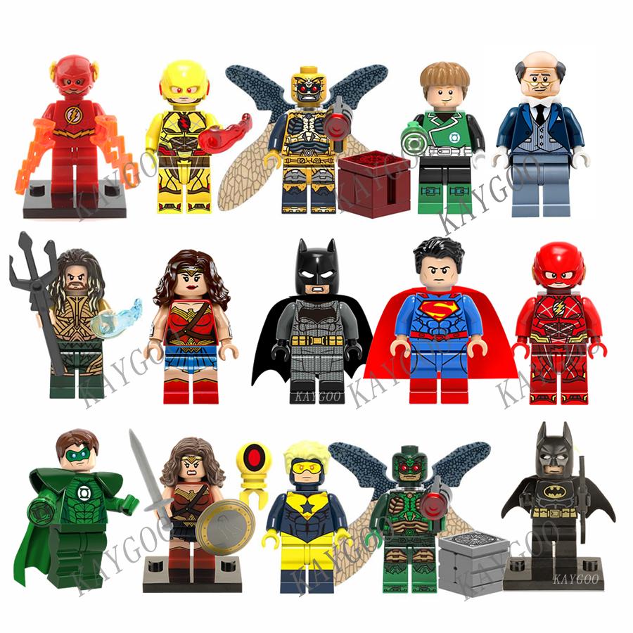 Bausteine DC Superhero Leo Fitz Daisy Jahnson Deathlok Melinda Grant Ward 8PCS
