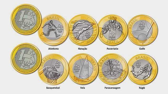 O Banco Central Lancou As Primeiras Nove Moedas Comemorativas Do